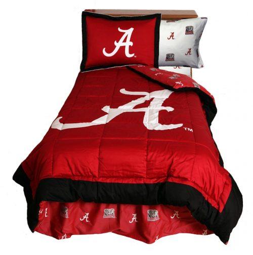 Alabama Crimson Tide Reversible Comforter Set (King)