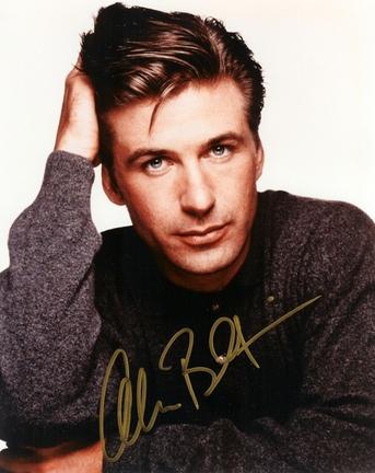 """Alec Baldwin Autographed 8"""" x 10"""" Photograph (Unframed)"""
