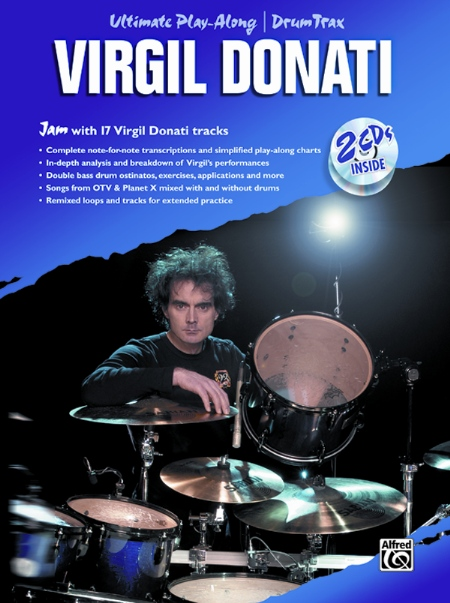 Alfred 00-0752B Ultimate Play-Along Drum Trax- Virgil Donati - Music Book