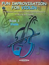 Alfred 00-0773CD Fun Improvisation for ... Violin- Viola- Cello- Piano - Music Book