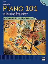Alfred 00-14588 Piano 101- Book 1 - Music Book