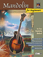 Alfred 00-19405 Mandolin for Beginners - Music Book