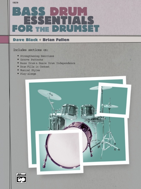 Alfred 00-19579 Bass Drum Essentials for the Drumset - Music Book