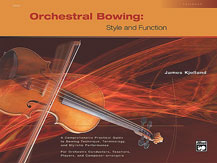 Alfred 00-19609 Orchestral Bowing- Style and Function - Music Book