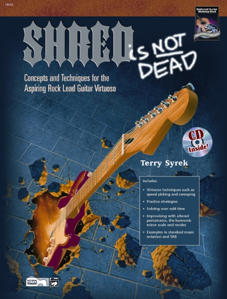 Alfred 00-21936 Shred Is Not Dead - Music Book