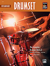 Alfred 00-22677 Complete Drumset Method- Intermediate Drumset - Music Book