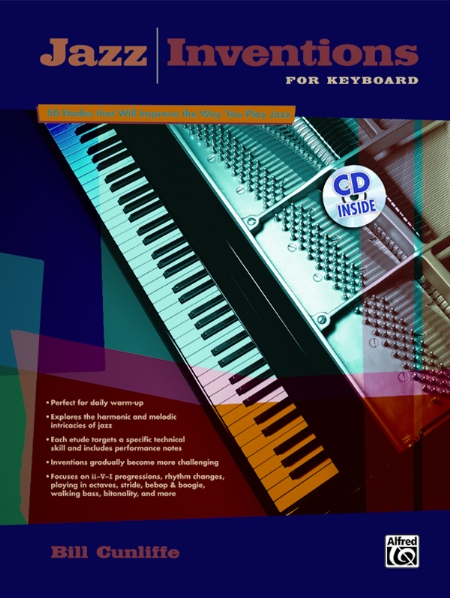 Alfred 00-22695 Jazz Inventions for Keyboard - Music Book