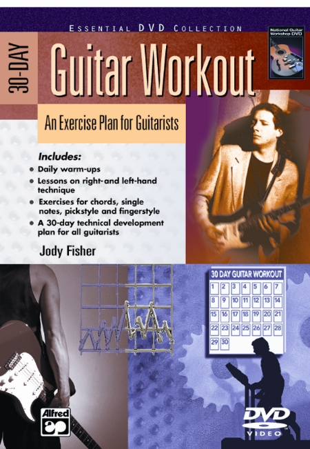 Alfred 00-22893 30-Day Guitar Workout - Music Book