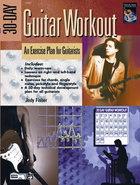 Alfred 00-22894 30-Day Guitar Workout - Music Book