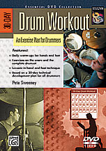 Alfred 00-24209 30-Day Drum Workout- An Exercise Plan for Drummers - Music Book