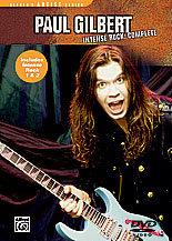 Alfred 00-25460 Paul Gilbert- Intense Rock Complete - Music Book