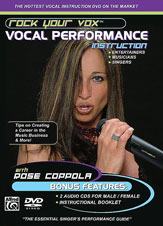 Alfred 00-25915 Rock Your Vox Vocal Performance Instruction - Music Book