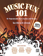 Alfred 00-28861 Music Fun 101 - Music Book