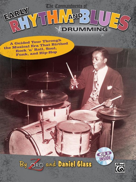 Alfred 00-30555 The Commandments of Early Rhythm and Blues Drumming - Music Book