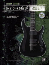Alfred 00-38900 SERIOUS SHRED ADV TECHNIQUE-BK&DVD