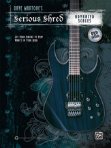 Alfred 00-38912 SERIOUS SHRED ADV SCALE-BK&DVD