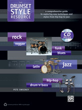 Alfred 00-39301 DRUMSET STYLE RESOURCE-BK&CD