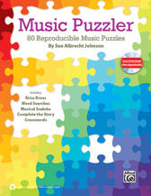 Alfred 00-39991 MUSIC PUZZLER-BK&DATA CD