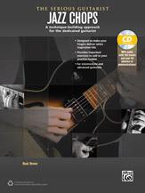 Alfred 00-40260 JAZZ CHOPS FOR GTR-BK&CD