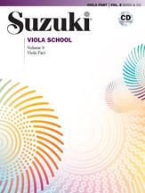 Alfred 00-40760 Suzuki Viola School Viola Part & CD Volume 8