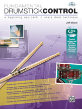 Alfred 00-42257 FUNDAMENTAL DRUMSTICK CONTROL-BK&CD
