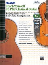 Alfred 00-42697 TEACH YRSLF CLASSICAL GTR-BK&CD&DVD