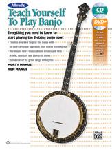 Alfred 00-42730 TEACH YRSLF BANJO-BK&CD&DVD