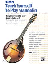 Alfred 00-43008 TEACH YRSLF PLAY MANDOLIN-BK&CD&DVD