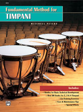 Alfred 00-4312 FUNDAMENTAL METHOD FOR TIMPANI-PETE