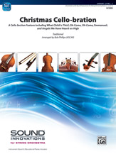 Alfred 00-44826 Christmas Cello-Bration Conductor Score & Parts - 2