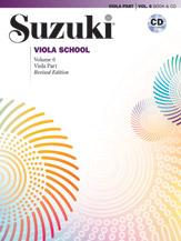 Alfred 00-45024 Suzuki Viola School Viola Part & CD Volume 6 - Revised