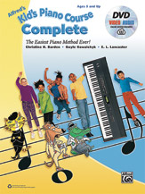Alfred 00-45195 Kids Piano Course Complete