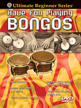 Alfred 00-905854 Ultimate Beginner Series- Have Fun Playing Hand Drums- Bongos - Music Book