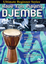 Alfred 00-905856 Ultimate Beginner Series- Have Fun Playing Hand Drums- Djembe - Music Book