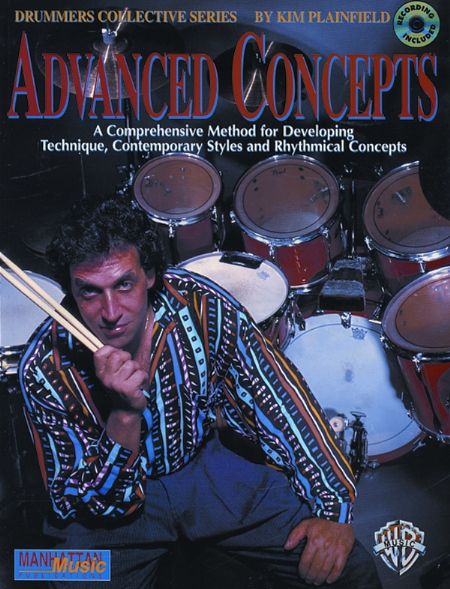 Alfred 00-MMBK0011CD Advanced Concepts - Music Book