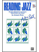 Alfred 00-SB272CD Reading Jazz - Music Book