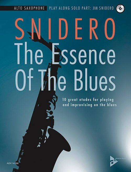 Alfred 01-ADV14530 The Essence of the Blues - Alto Saxophone Book & CD
