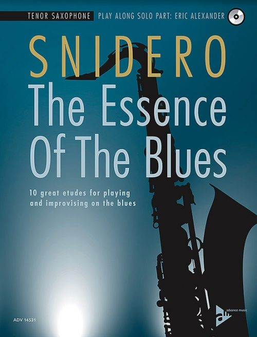 Alfred 01-ADV14531 The Essence of the Blues - Tenor Saxophone Book & CD