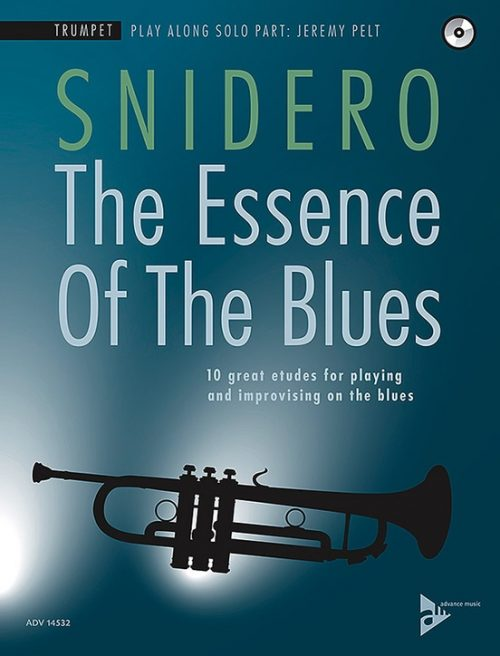Alfred 01-ADV14532 The Essence of the Blues - Trumpet Book & CD