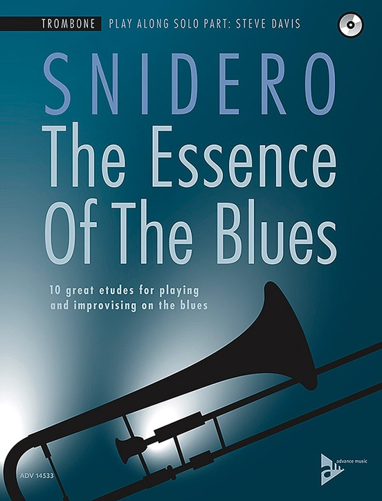 Alfred 01-ADV14533 The Essence of the Blues - Trombone Book & CD