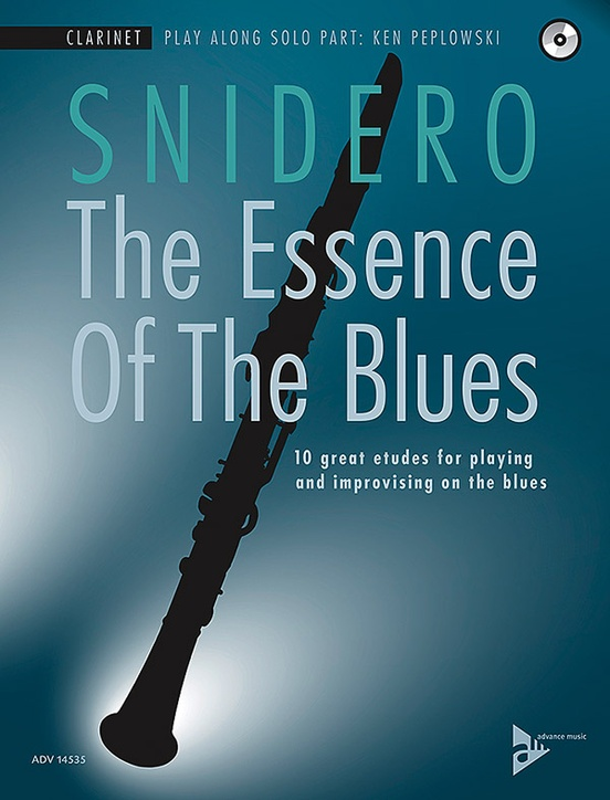 Alfred 01-ADV14535 The Essence of the Blues - Clarinet in B-flat Book & CD