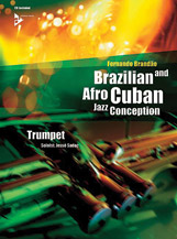 Alfred 01-ADV14842 Brazilian & Afro-Cuban Jazz Conception - Trumpet