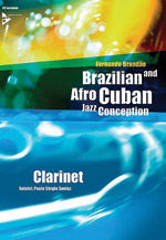 Alfred 01-ADV14845 Brazilian & Afro-Cuban Jazz Conception - Clarinet
