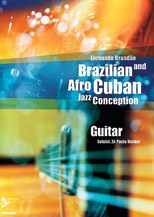 Alfred 01-ADV14846 Brazilian & Afro-Cuban Jazz Conception - Guitar