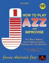 Alfred 24-V01DS Jamey Aebersold Jazz Volume 1 - How to Play Jazz & Improvise