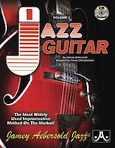 Alfred 24-V01G Jamey Aebersold Jazz Volume 1 - Jazz Guitar