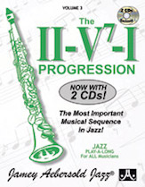 Alfred 24-V03DS Jamey Aebersold Jazz Volume 3 - The II-V7 & I Progression