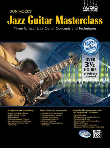 Alfred 53-31950 Don Mock s Jazz Guitar Masterclass - Music Book