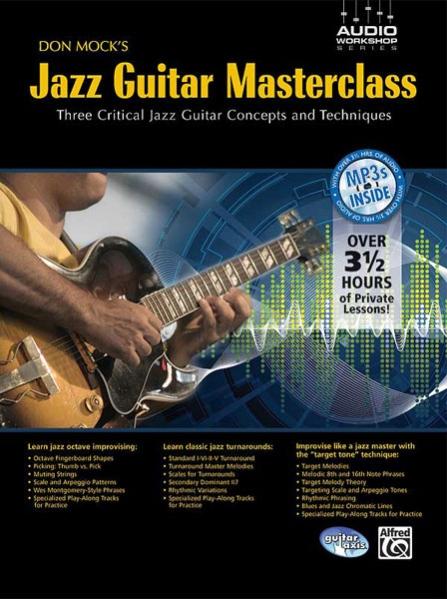 Alfred 53-31950 Don Mock s Jazz Guitar Masterclass - Music Book