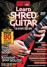 Alfred 56-31979 Guitar World- Learn Shred Guitar - Music Book